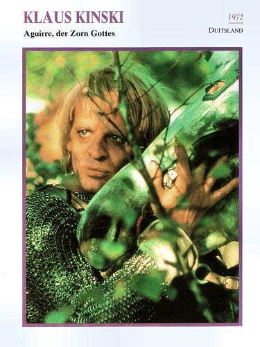Klaus Kinski in Aguirre. der Zorn Gottes (1972), cc