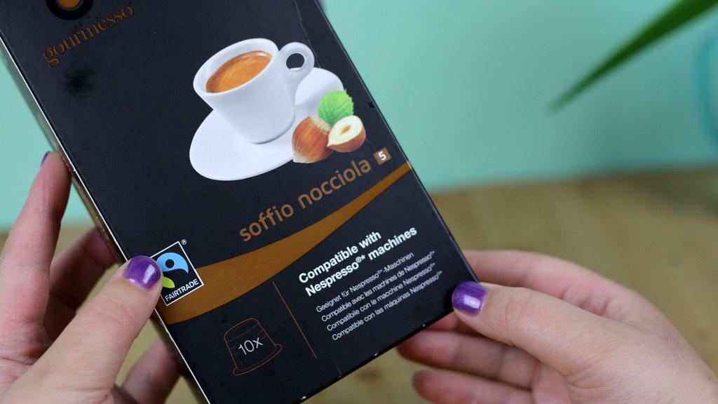 Gourmesso Soffio Nocciola Nespresso Pods
