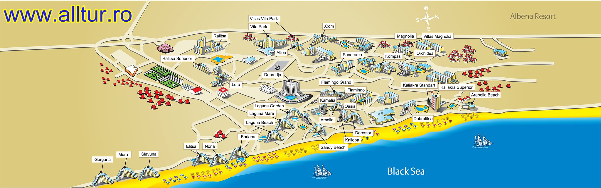 Harta Albena