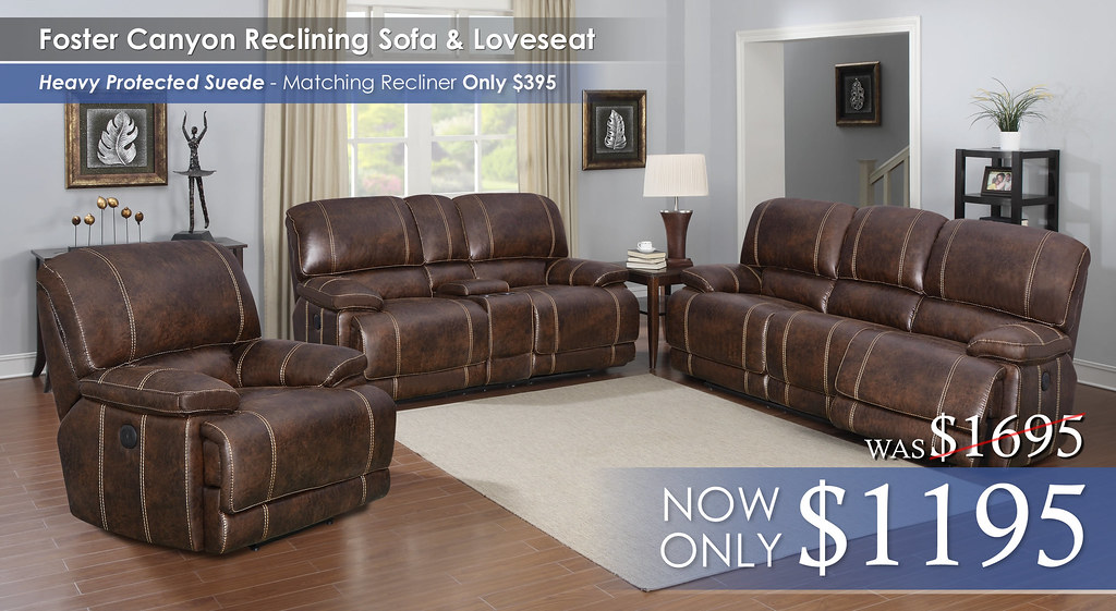 Foster Canyon Reclining Set