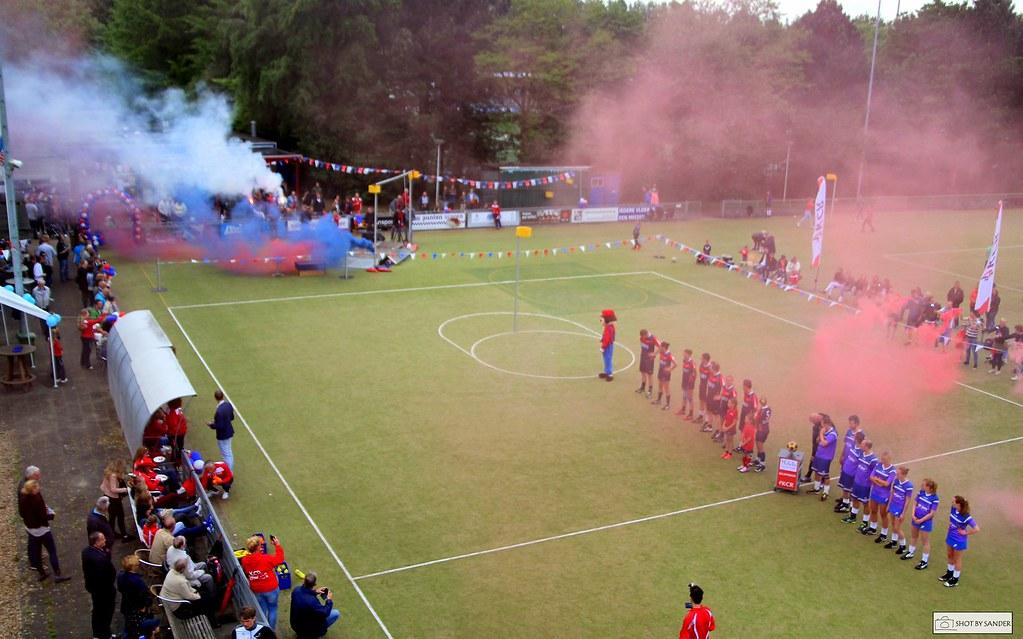 KCR korfbalfoto's Kampioen KCR 1 – Futura 1