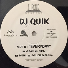DJ QUIK:TROUBLE(LABEL SIDE-B)