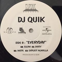 DJ QUIK:TROUBLE(LABEL SIDE-B)