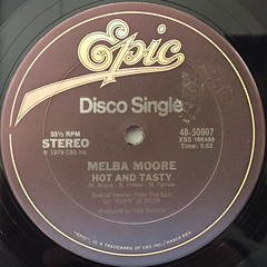 MELBA MOORE:NIGHT PEOPLE(LABEL SIDE-B)