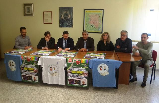 Noicattaro. Conferenza stampa torneo intero