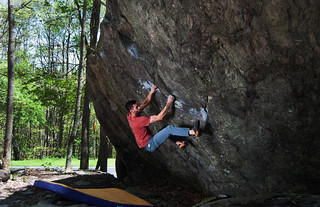Bouldering at Grayson Highlands | by vastateparksstaff