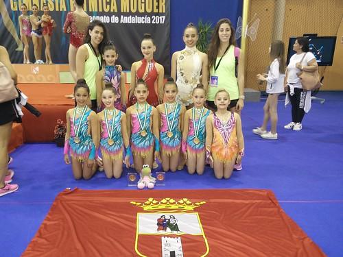 Club Gimnasia Rítmica Dos Hermanas Campeonato Andalucía