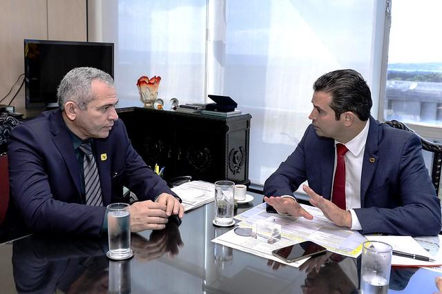 Concessão da BR-163 leva Nélio Aguiar a reunir com ministro dos Transportes, Nélio Aguiar e o ministro dos Transportes/Governo Temer