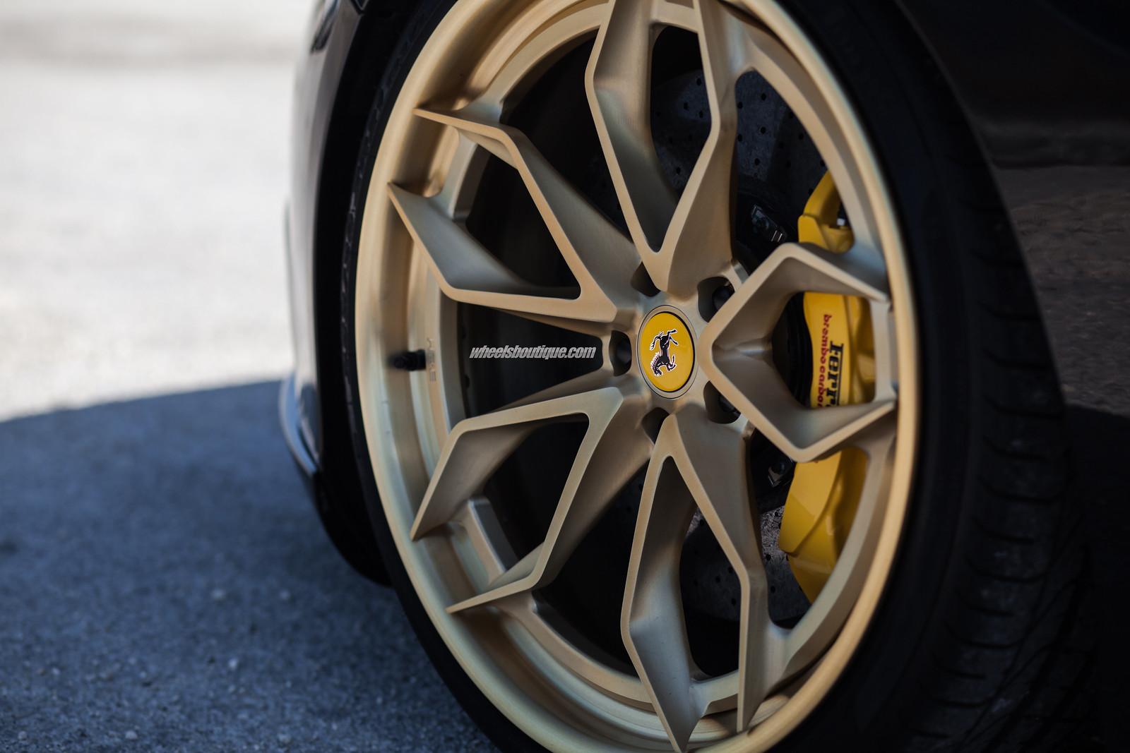 Pirelli P Zero >> HRE's New Hidden Hardware 3-Piece Wheels on Ferrari California by TeamWB - Rennlist - Porsche ...