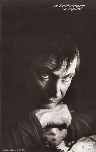Albert Bassermann in Faust