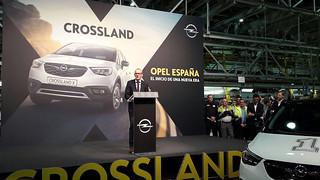 Produktionsstart Crossland X
