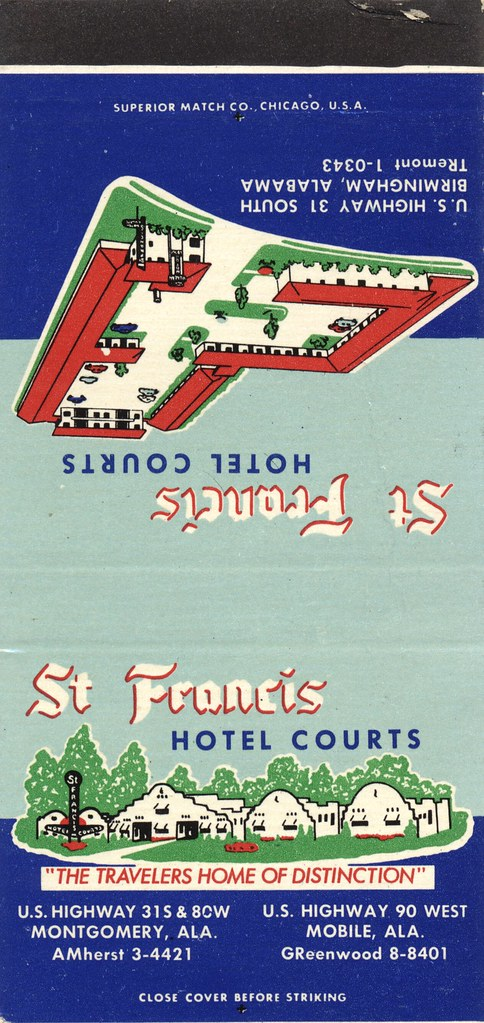 St. Francis Hotel Courts - Montgomery & Mobile, Alabama