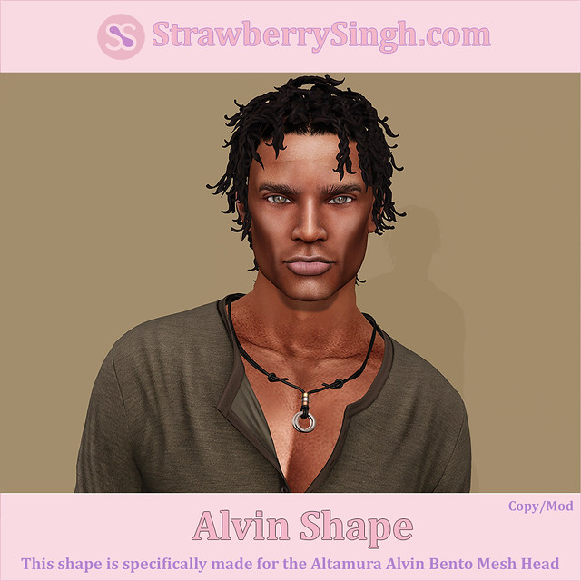 StrawberrySingh.com Alvin Shape
