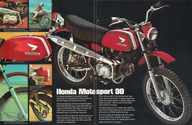 Honda SL90 2