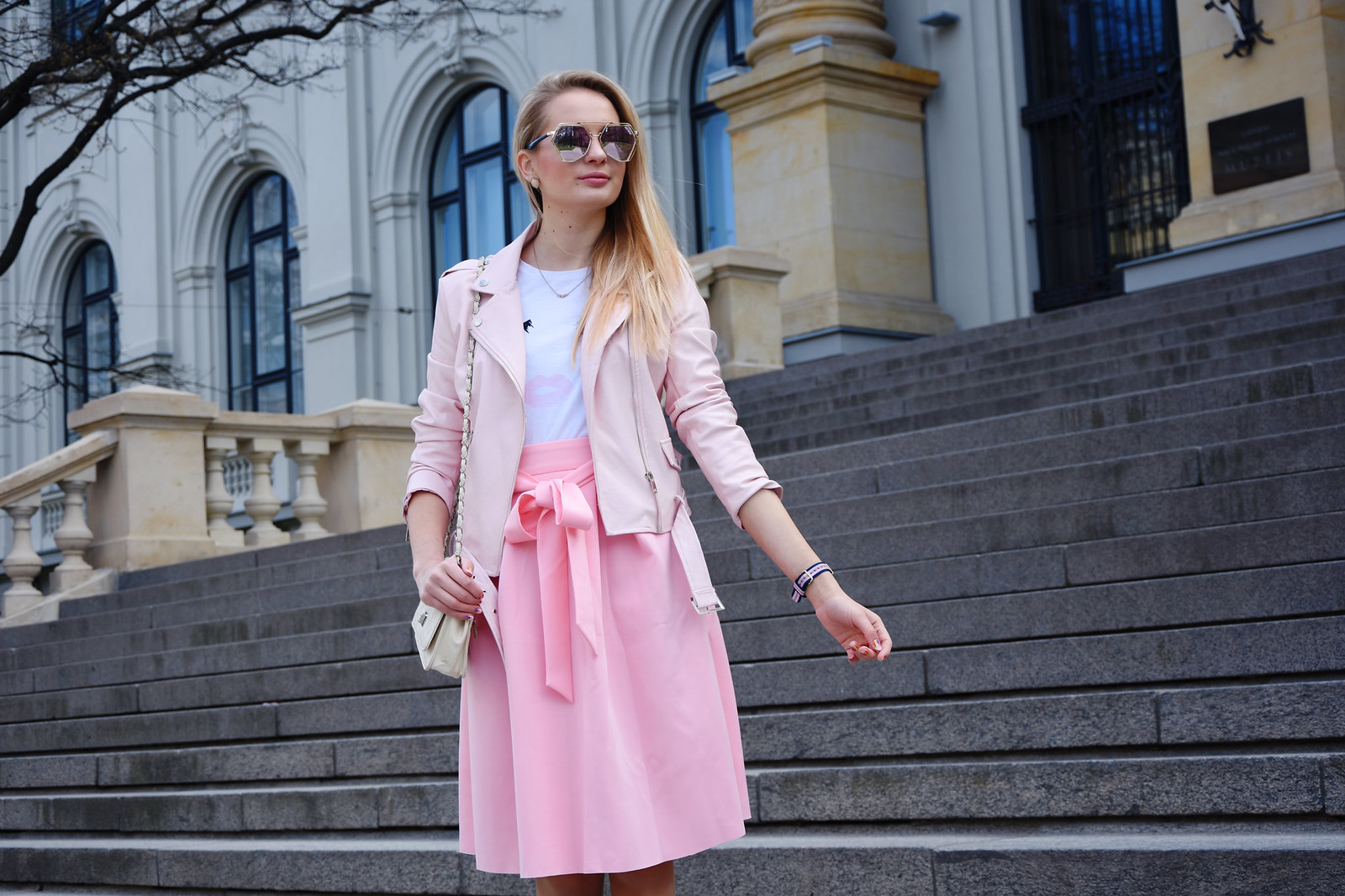 Pink spring outfit inspiratiob
