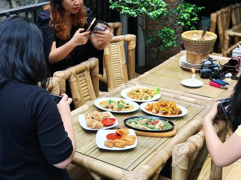Lunch at Omah Pincuk