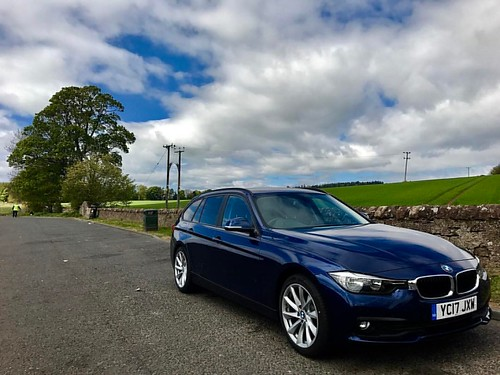 Having a bunch of fun driving this thing. Was expecting it to be average but it's been a bit more fun than that. #bmw #roadtrip #scotland #europe #uk #iphonephotography #iphonephoto | by Dalfry