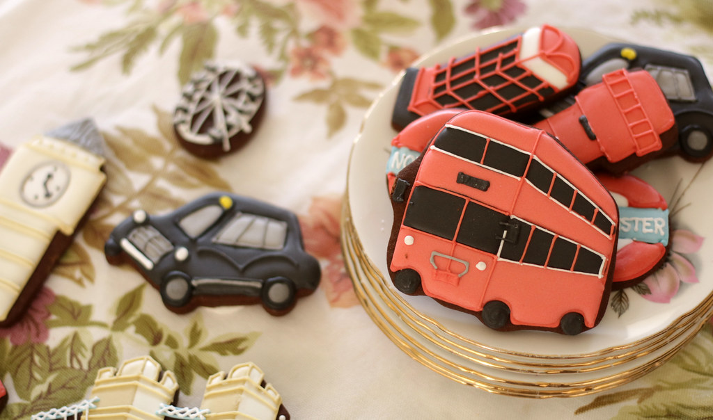 Biscuiteers London Iced Biscuits