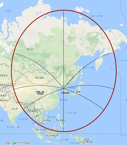 北朝鮮から4000キロ 修正版 170522