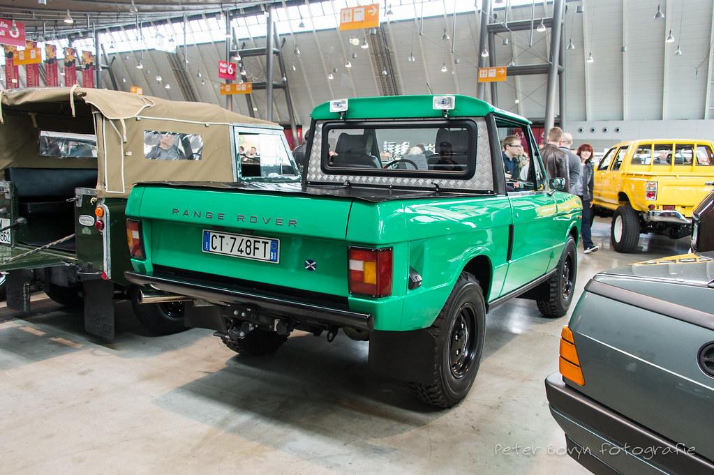 Ragge-Rover Classic Pick-up - 1980   3,5 Liter V8 Retro Clas…   Flickr