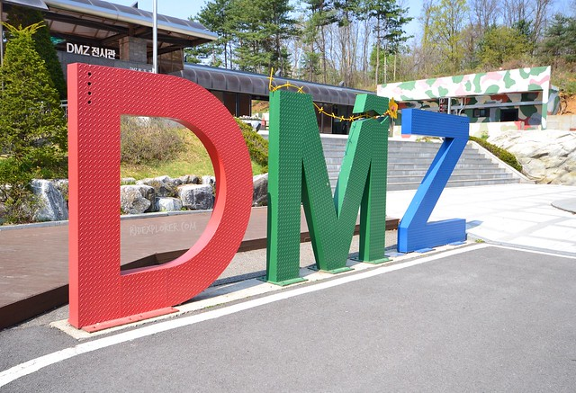 dmz morning half day tour dmz sign
