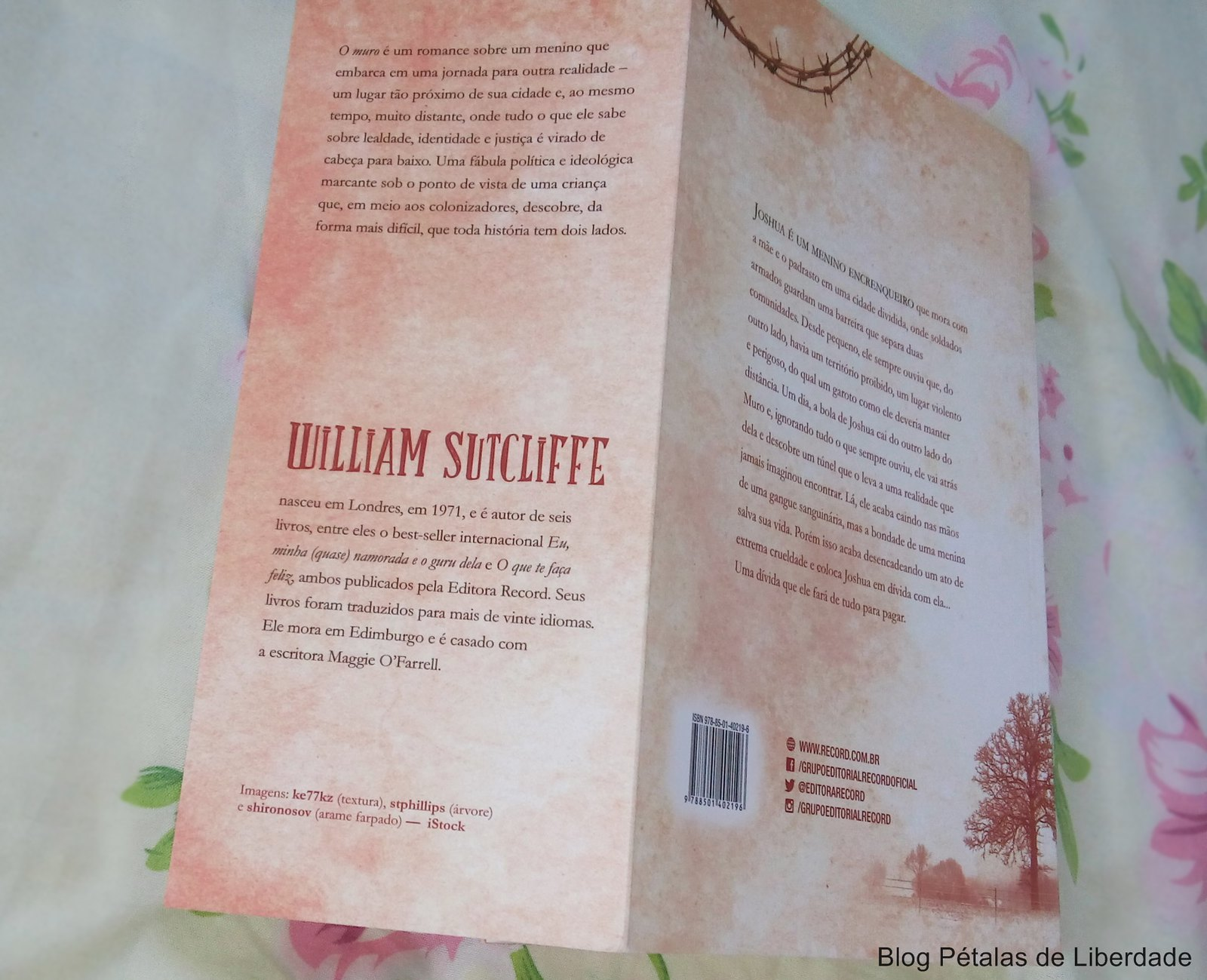 Resenha, livro, O-Muro, William-Sutcliffe, Editora-Record, fotos, capa,