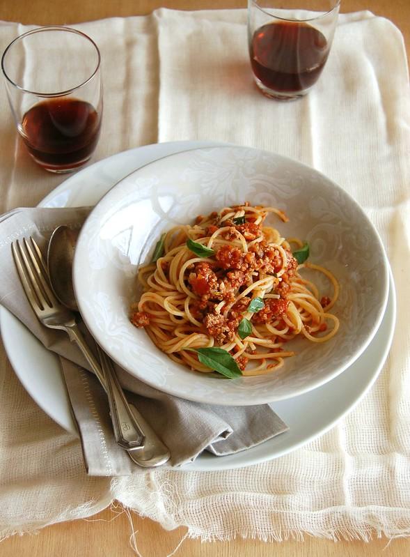 My Bolognese sauce / O meu bolonhesa