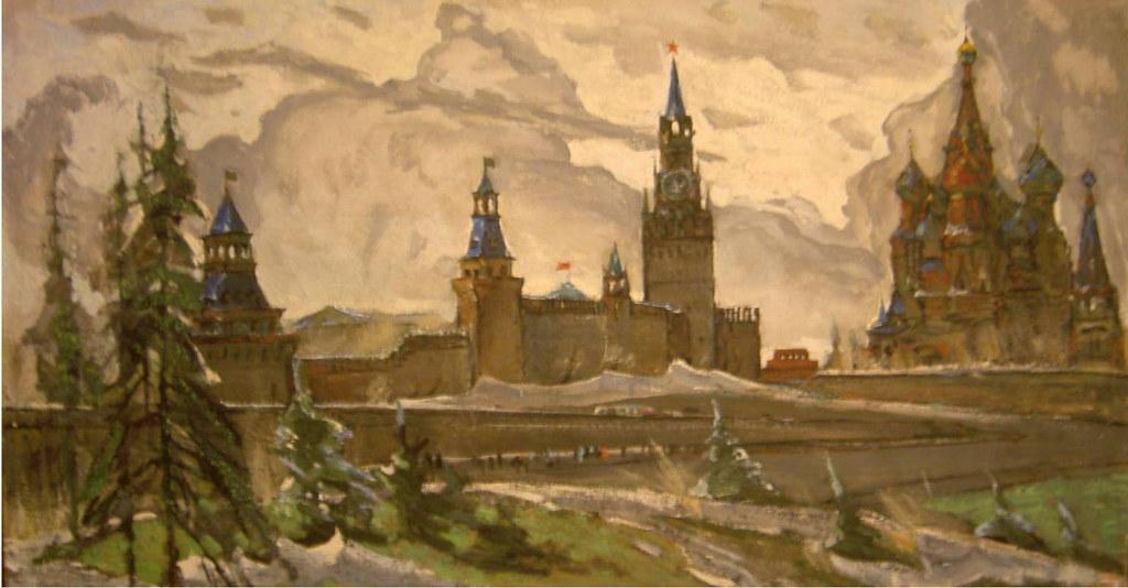 维克多·阿斯塔利采夫画作选22