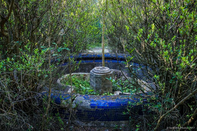 Fuente central de los jardines de Cal Pla