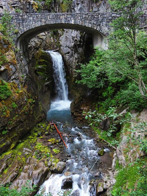 Stunning Waterfalls From The US: Christine Falls, Mount Rainier National Park, WA, USA