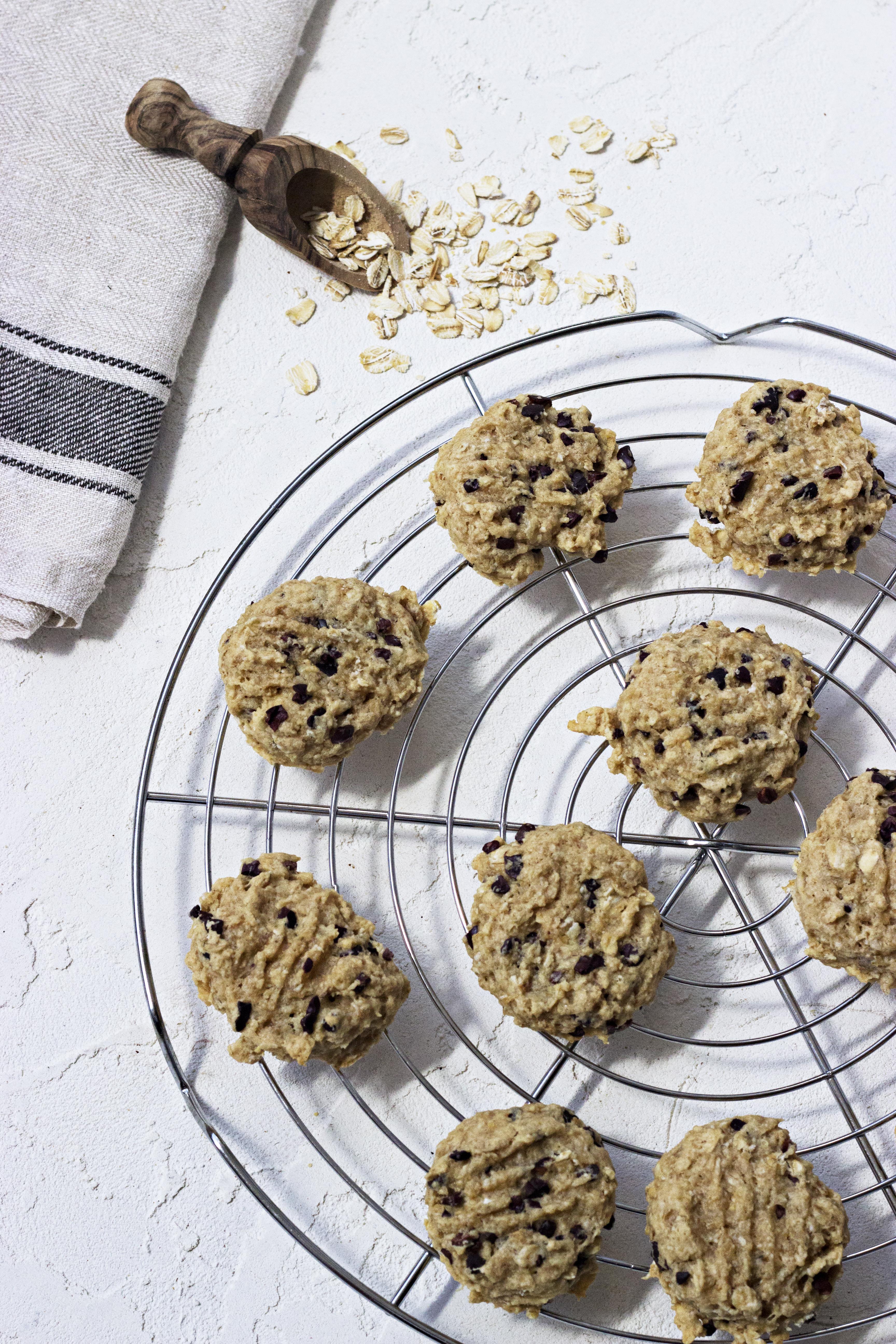 Bolachas de Aveia e Manteiga de Amendoim / Oat and Peanut Butter Cookies