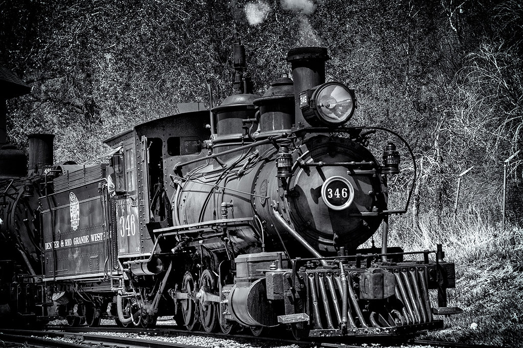 Engine 346 at the Colorado Railroad Museum, Golden