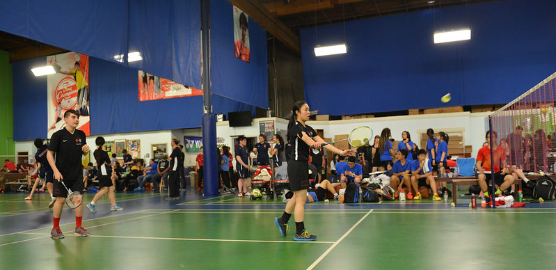 Badminton BCL-West Championship, May 5, 2017