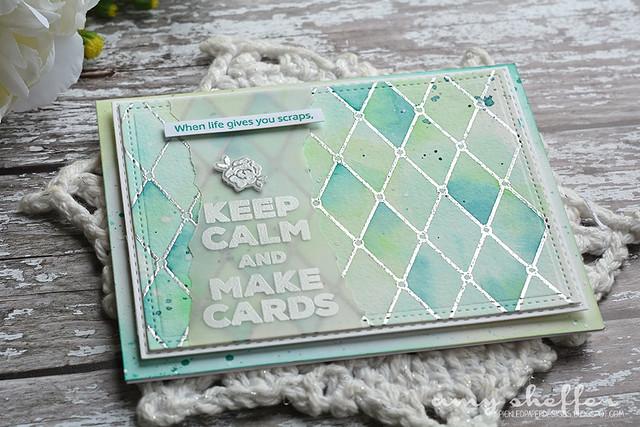 Keep Calm and Make Cards