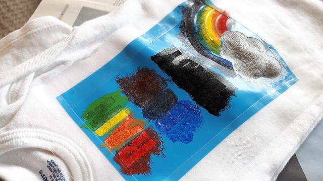 Sponge Painted Onesies 18