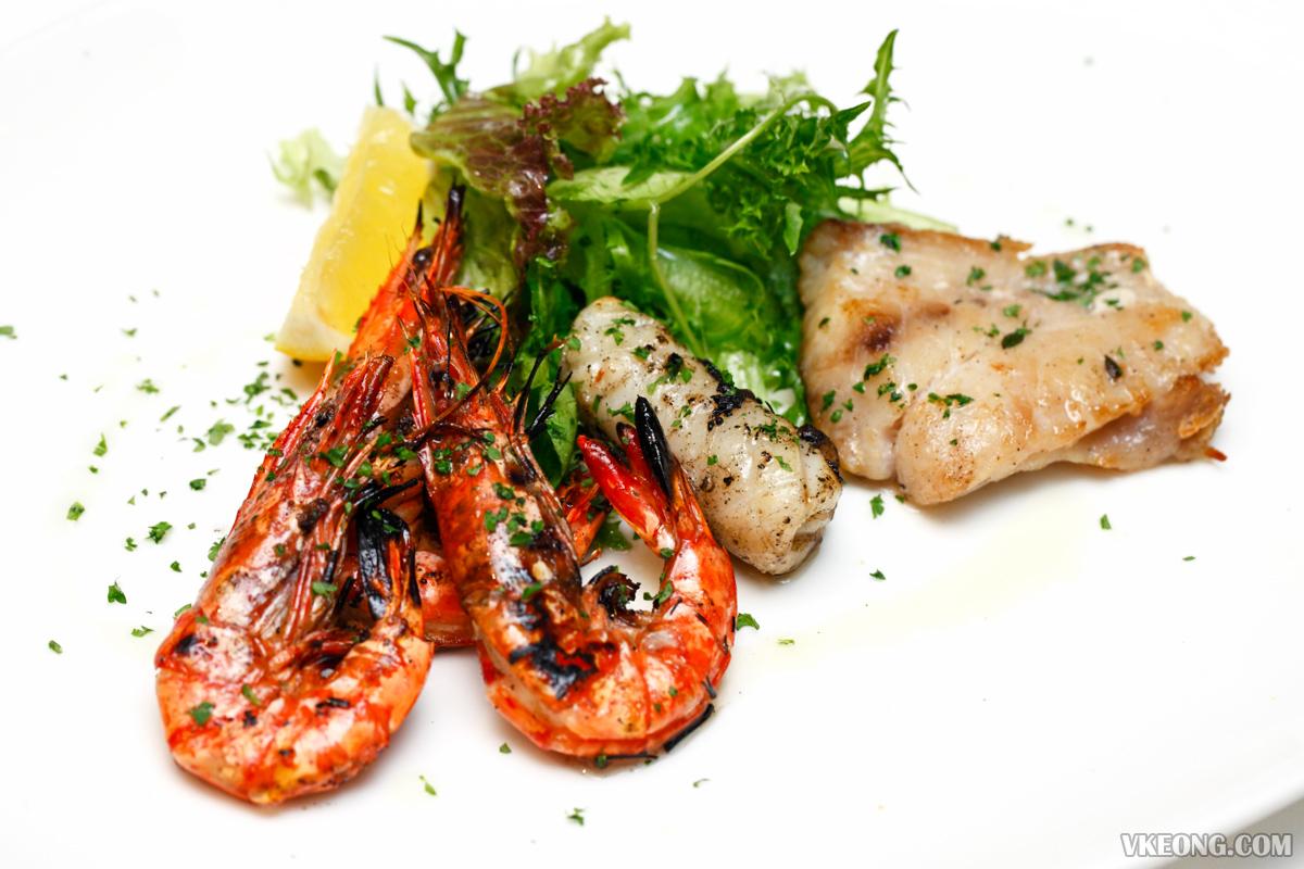 Villa Danieli Italian Prosecco Brunch Mix Grilled Seafood