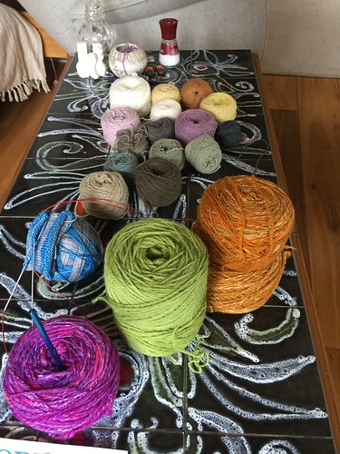 yarn works in progress