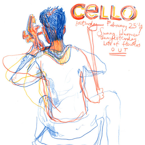 Sketchbook #103: Cello