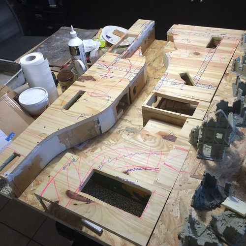 Malval District project - Mordheim table 34477886641_99aba306f2