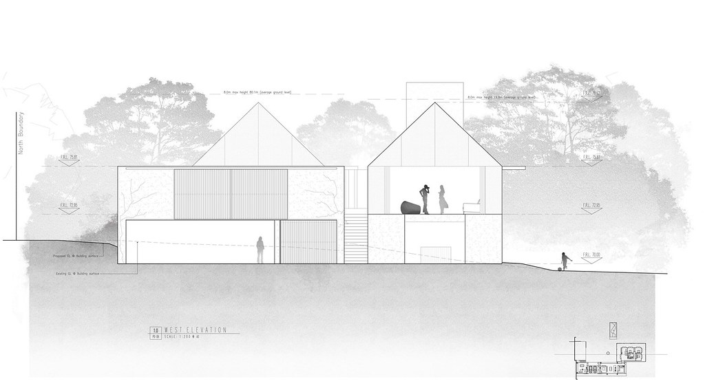 Modern forest house Auckland, New Zealand by Fearon Hay Architects Sundeno_10