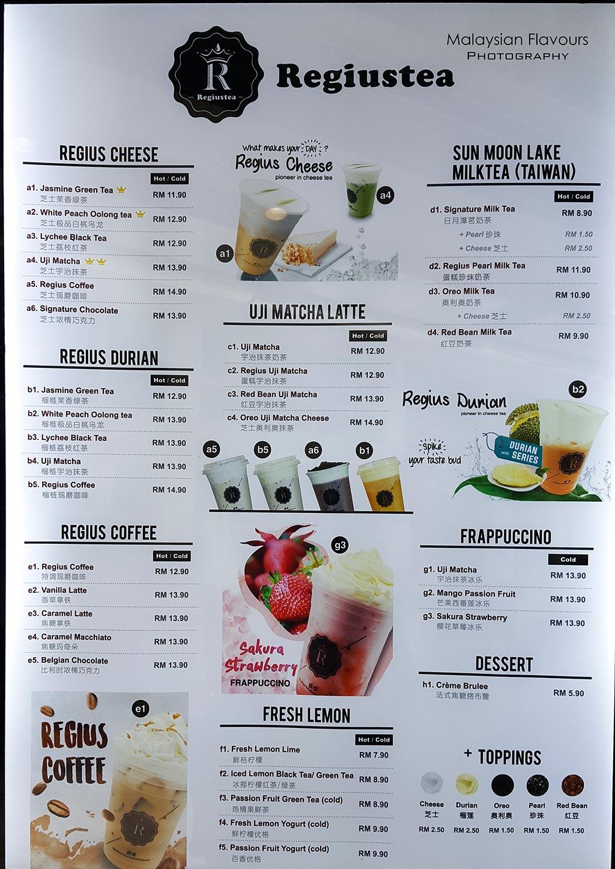 Lemon Moon Cafe Menu