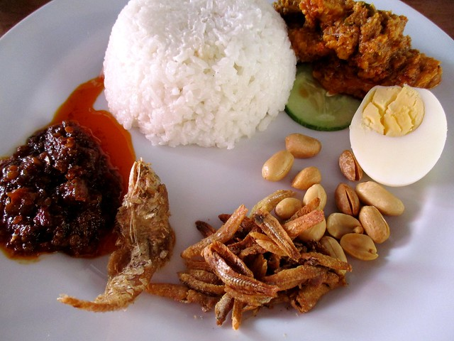 Sarah Islamic Corner nasi lemak special