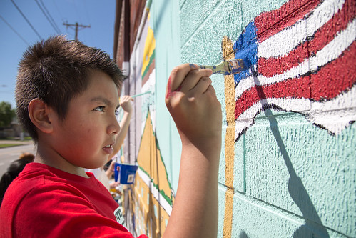 At Willard, Mural Becomes a Tradition