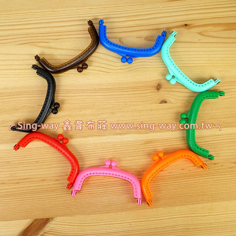 塑膠口金8.5cm-附版型  手工藝材料配件 SA001612001
