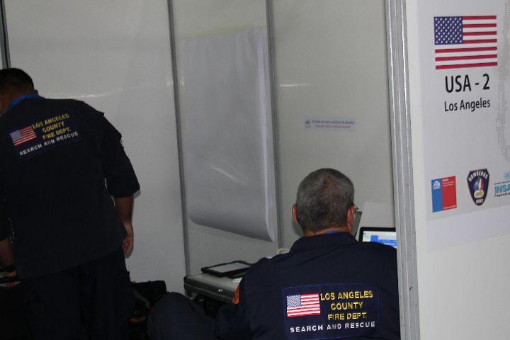 SAMU Metropolitano participó de exitoso simulacro de emergencia con expertos internacionales