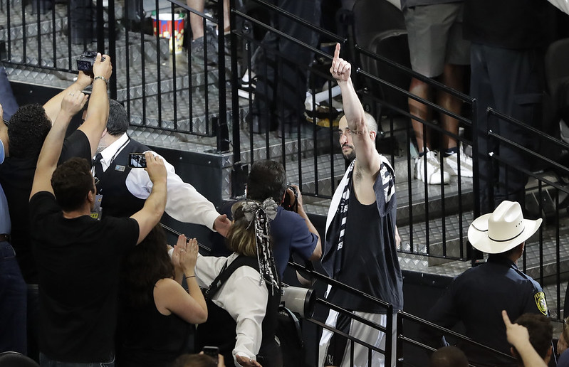 Manu Ginobili正認真考慮是否結束16年NBA生涯。(達志影像資料照)