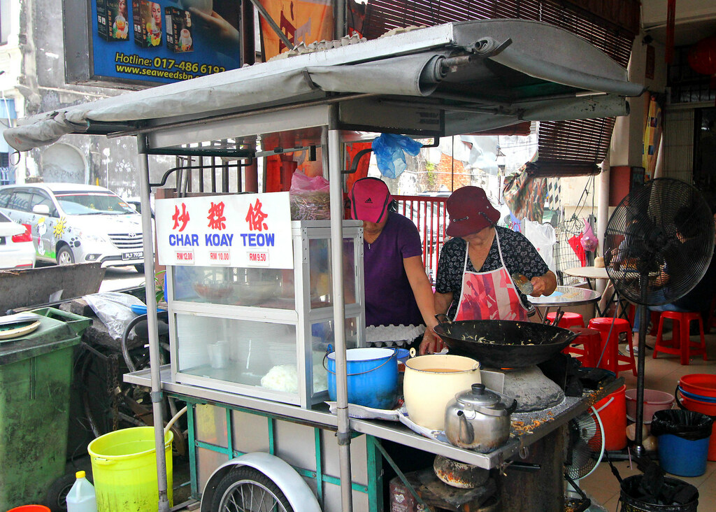 Penang Char Kway Teow: Red Beret Lady Char Kway Teow Stall