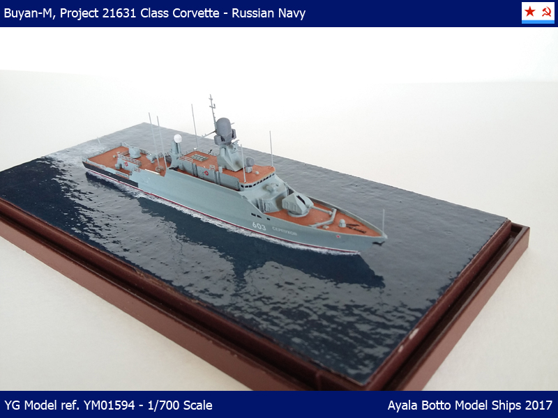 Corvette Buyan-M, Projet 21631 Marine Russe   YG Model 1/700 33449008643_34b6cf9e1a_o