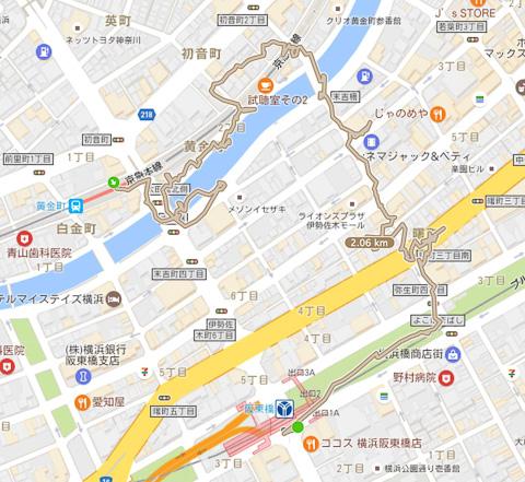 黄金町〜阪東橋