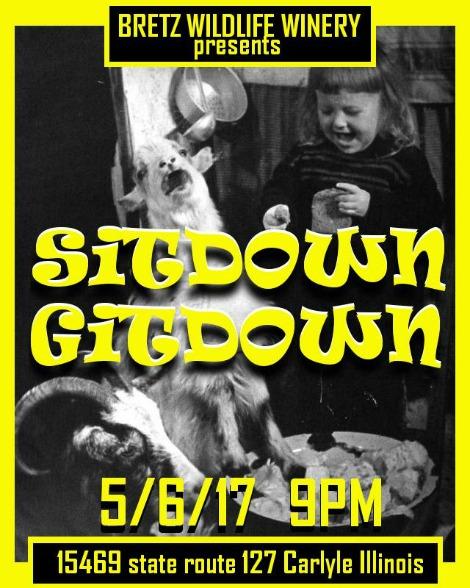 Sitdown Gitdown 5-6-17